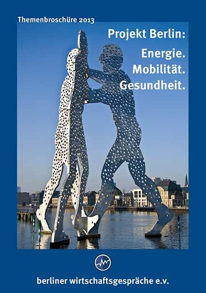 BWG Themenbroschüre 2003 Projekt Berlin: Energie. Mobilität. Gesundheit.